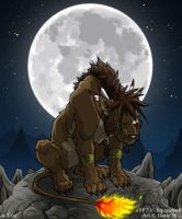 FF7 - RedXIII by ugly-dog