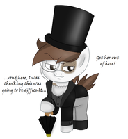 Pipsqueak Cobblepot by BlackBeWhite2k7