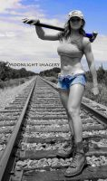 Ahlisha Railroad 2 by moonlightimagery