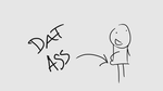 Dat-ass by Gamal-the-rookie