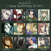 2014 Summary of Art by theLostSindar