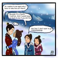 Zutara Week Day1 FAMILY by ladyleyleybug