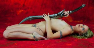 Lines of the Body and Sword by Mac--Photo