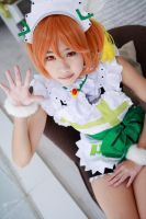 Love Live! - Mogyutto LOVE Hoshizora Rin by Xeno-Photography