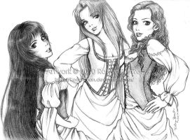 The Ladies of A Tale Untold by Kadri-chan