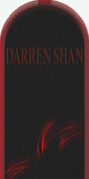Darren Shan bookmark by Szana