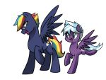 Prism Bolt and Whirlwind by kilala97