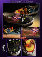 Eeveelution Shoes by xxMoonwish