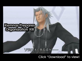 Xemnas Prepares Org. XIII AMV by SharpAnimationInc