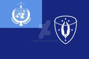 3D High: UN Air Force (Flag) by GeneralYin