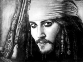 Jack Sparrow by RutePascoal