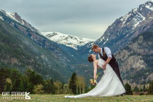 Estes Park Wedding I by Bl4ck-and-wh1te