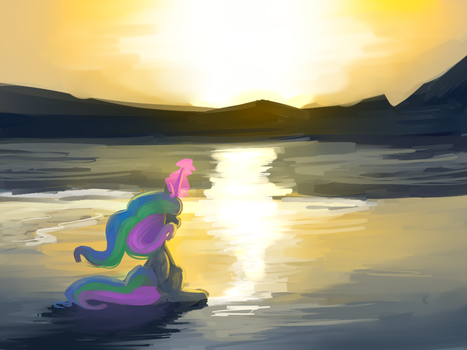 What a beach by lilfunkman
