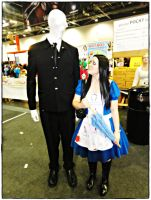 Alice and Slender - October Expo 2012 VII by jagged66