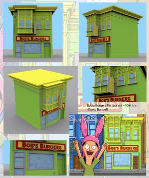 Welcome to Bobs Burgers by RSDoidle