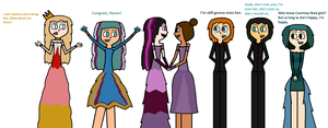 Raven and Courtney Wedding by Demonqueen23