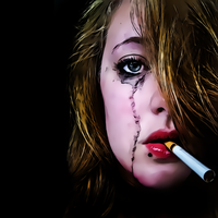 Crying For A Smoke by donvito62