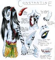 Character ref- Constantine by avi17