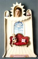 Boy on Couch by jessica-romero