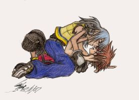 KH: Yaoi- Keep You Close by oXMiDoRiXo