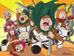 Attack on Family Guy by Thy-Name-is-Tiff