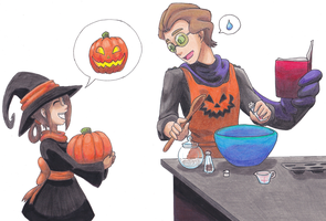 Lets Make A Jack-O-Lantern! by FullmetalDevil