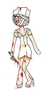 Silent Hill Nurse by Naomz