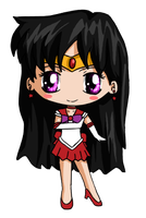 Sailor Mars Chibi by IcyPanther1