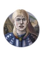 Portraits of Ice and Fire: Brienne of Tarth by IacopoDonati