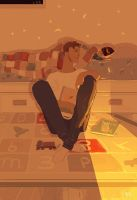 Good night Big guy. by PascalCampion