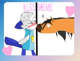 Kiss meme...X3 by CuddlyKeanu