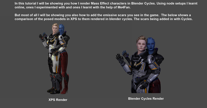 Using Blender Cycles to Render by Padme4000