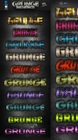 Photoshop grunge text effects by Free-designs-net