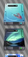 7 XP and Vista Hard Drives by JollyGreenJustin