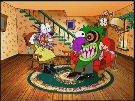John R. Dilworth's Courage the Cowardly Dog Review by Shawnifer