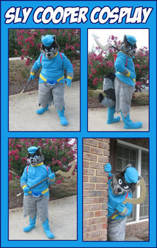 Sly Cooper Cosplay by x-Wolfeh-x