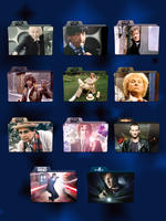 Doctor Who Folder Icons by Kliesen