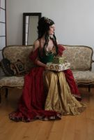 Holiday Goddess 2 by mizzd-stock