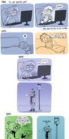 Hourly Comics 2013 by AdriOfTheDead