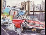 1967 Dodge Coronet Movie Car Chase by FastLaneIllustration