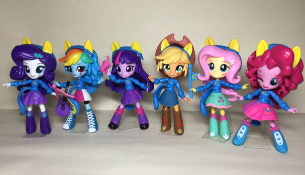 School Pep Rally MANE6 minis by fromamida