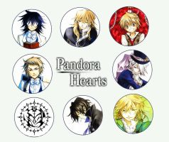 Pandora Hearts Wallpaper by Laurie-San