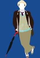 The Seventh Doctor by HaddonArt