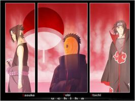 + Uchiha Wallpaper + by LudovicGarinot