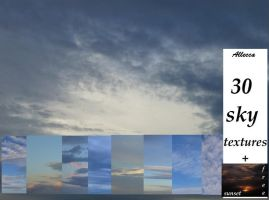 Sky Textures Pack by allecca