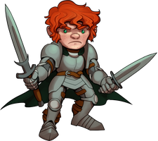 Chibi Son of a Whore by MisterCrowbar