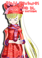 MMD: Plaid Textures by TeamVocaloid