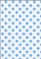 Blue Polka Dots by BelovedStock