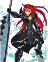erza scarlet fairy tail by cloudsrealm