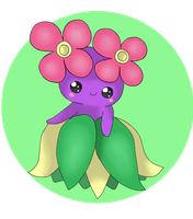 shiny bellossum by Mizdreavus